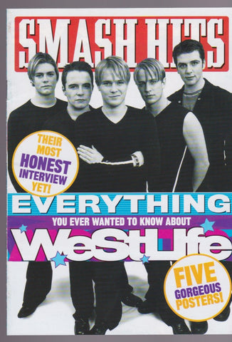 Smash Hits Mini Mag - Westlife
