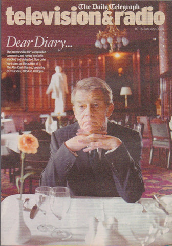 Telegraph TV Guide - John Hurt