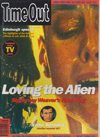 Time Out Magazine - Alien
