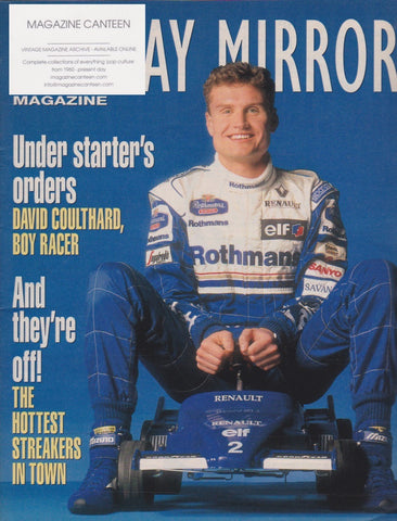 Mirror Magazine - David Coulthard