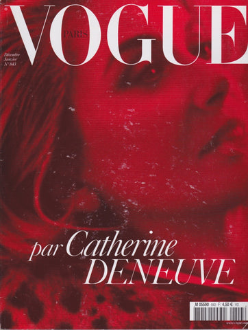 Vogue Paris Magazine - Catherine Deneuve