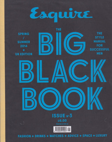 Esquire Magazine - The Big Black Book - Issue 3 2014