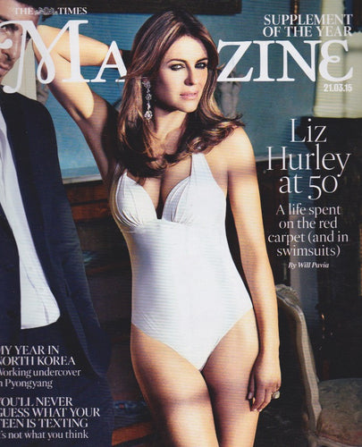 The Times Magazine - Elizabeth Hurley