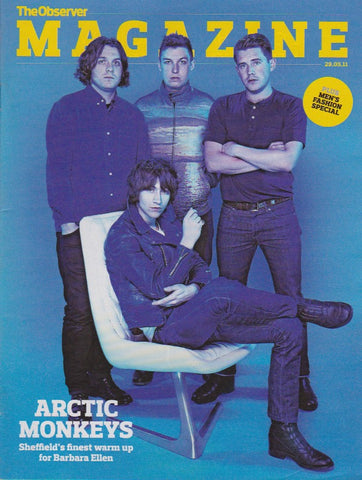 Observer Magazine - The Arctic Monkeys