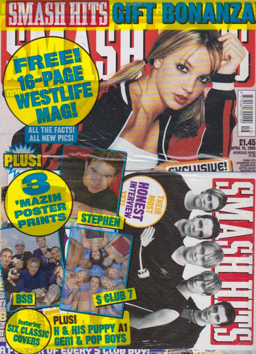 Smash Hits Magazine 2000 - Britney Spears
