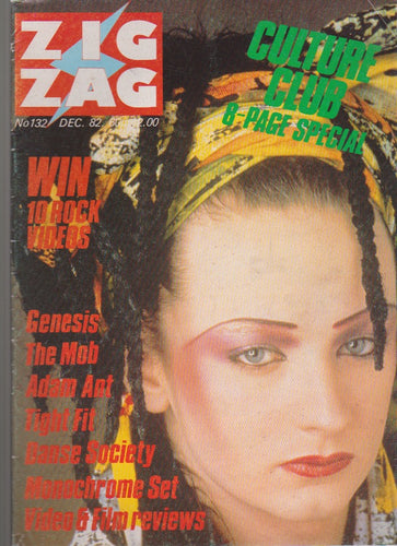 ZigZag Magazine - Boy George