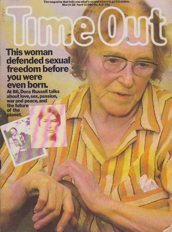 Time Out Magazine - Dora Russell