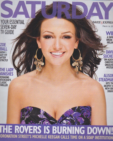 Express Magazine - Michelle Keegan