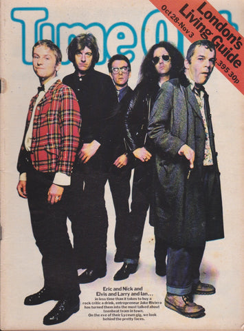 Time Out Magazine - Elvis Costello - Ian Dury