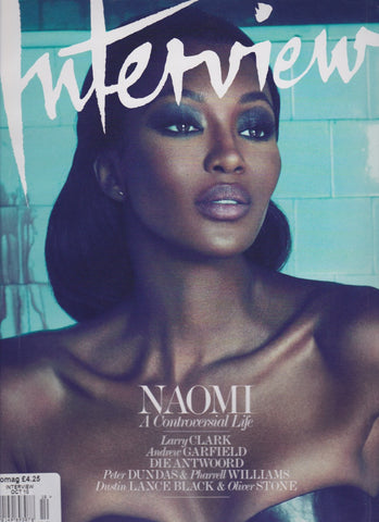 Interview Magazine - Naomi Campbell