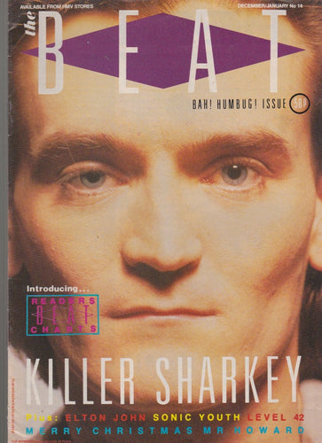 The Beat magazine - Feargal Sharkey