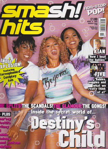 Smash Hits Magazine 2000 - Destiny's Child Beyonce