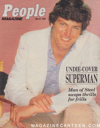 People Magazine - Christopher Reeve