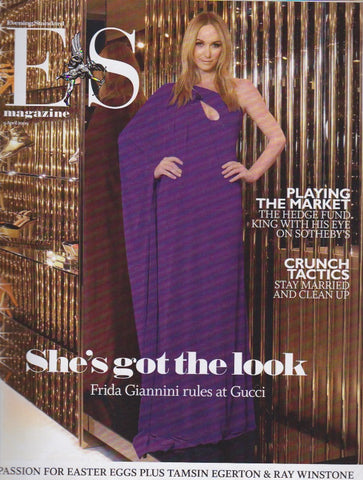 ES Magazine - Frida Giannini