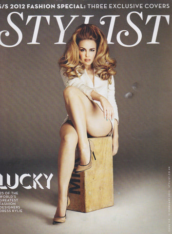 Stylist Magazine - Kylie Minogue
