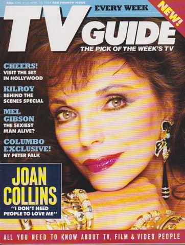 Tv Guide Magazine - Joan Collins