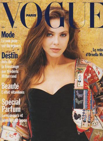Vogue Paris Magazine - 1989 - Ornella Muti