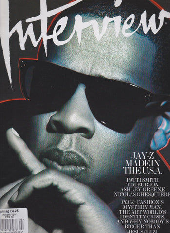 Interview Magazine - Jay-Z