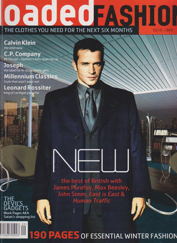 Loaded Fashion Magazine - James Purefoy