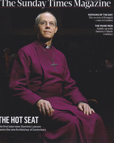 The Sunday Times - The archbishop of Canterbury