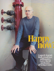 Guardian Magazine - Larry David Jill Bouwens model