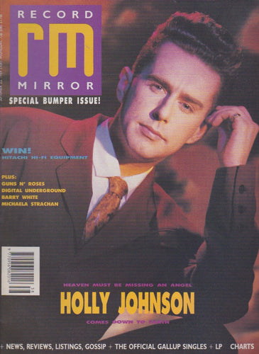 Record Mirror Magazine - 1989 - Holly Johnson