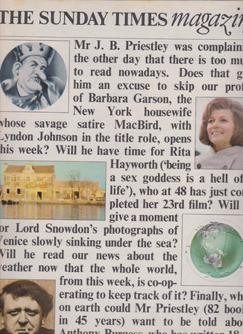 The Sunday Times Magazine - Lord Snowdon