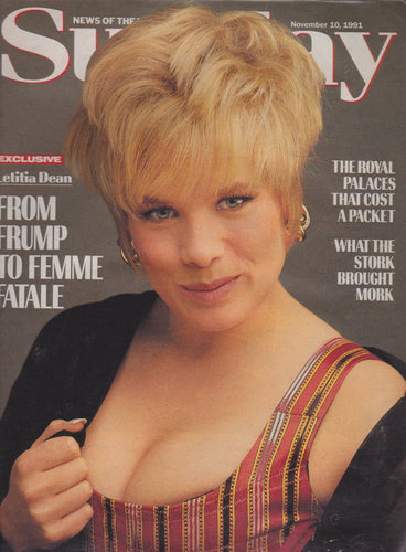 News Of The World Magazine - Letitia Dean