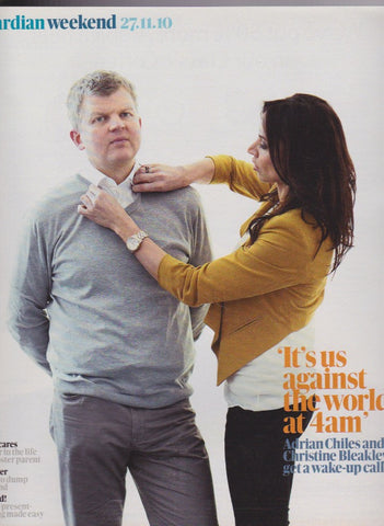 Guardian Magazine - Adrian Chiles & Christine Bleakley