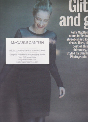 The Observer Magazine - Kelly MacDonald - Glitter and Grit