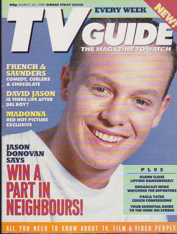 TV Guide Magazine - Jason Donovan