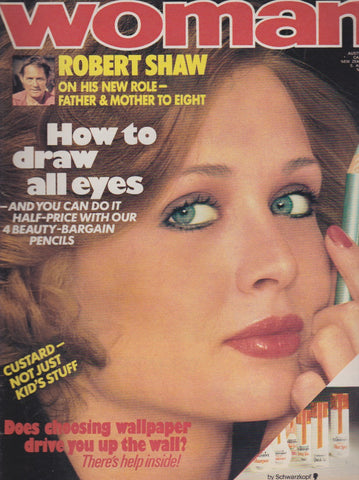 Woman Magazine - Robert Shaw
