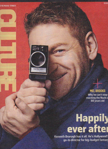 Culture Magazine - Kenneth Branagh