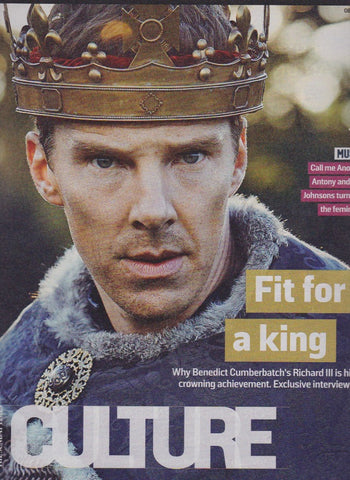 Culture Magazine - Benedict Cumberbatch