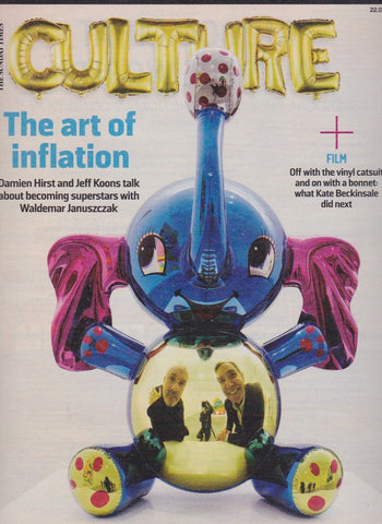 Culture Magazine - Jeff Koons and Damien Hirst