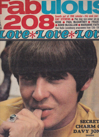 Fabulous 208 Magazine - Davy Jones
