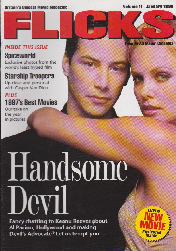 Flicks Magazine - Charlize Theron & Keanu Reeves