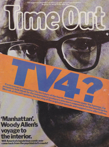 Time Out Magazine - Woody Allen