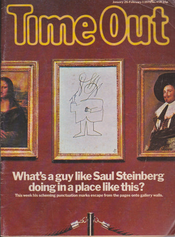 Time Out Magazine - Saul Steinberg