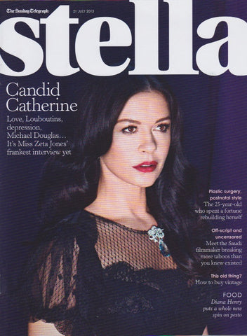 Stella Magazine - Catherine Zeta Jones