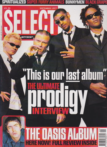 Select Magazine - The Prodigy