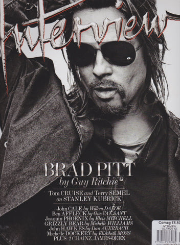 Interview Magazine - Brad Pitt