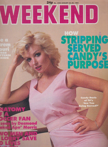 Weekend Magazine - Candy Davis