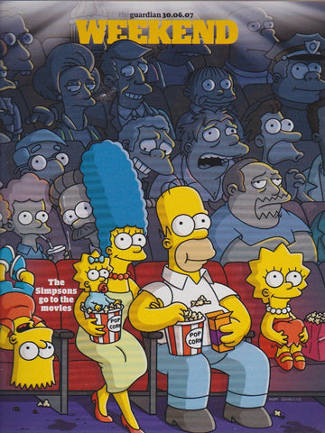 Guardian Magazine - The Simpsons