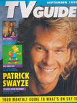 TV Guide Magazine - Patrick Swayze