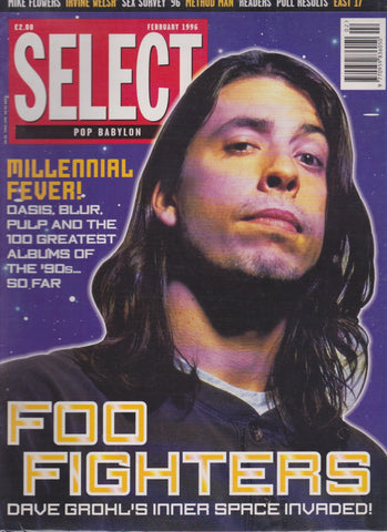 Select Magazine - DAVE GROHL THE FOO FIGHTERS