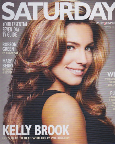 Express Magazine - Kelly Brook