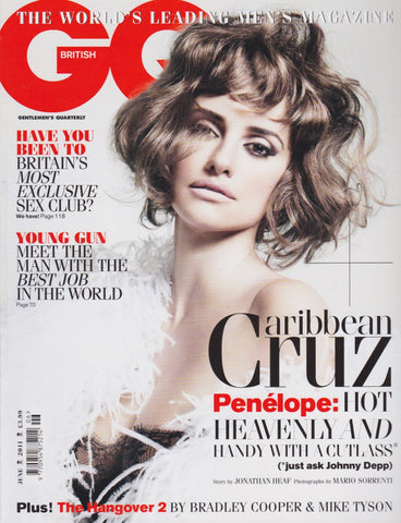 GQ Magazine - June 2011 - Penelope Cruz