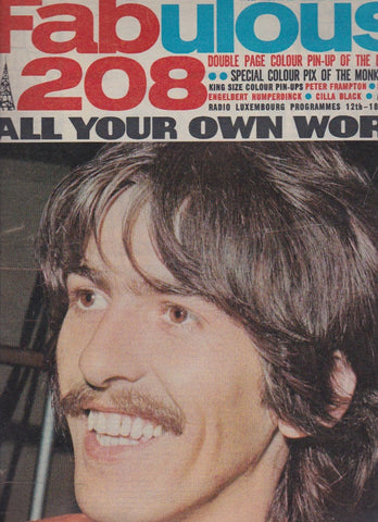 Fabulous 208 Magazine - George Harrison