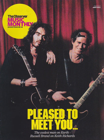 Observer Magazine Keith Richards the rolling stones